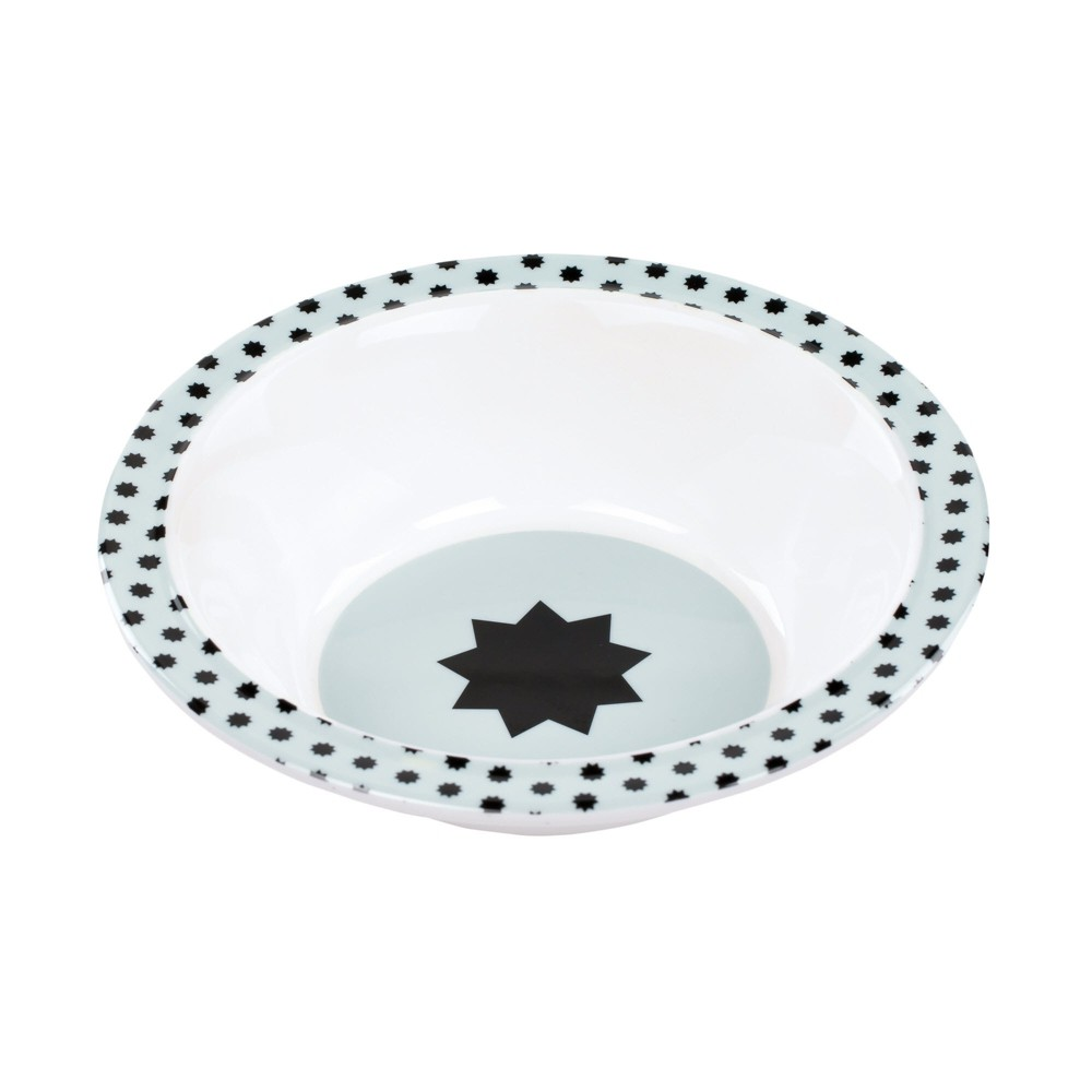 Image of Lassig Little Chums Bowl - Blue/White, Green White