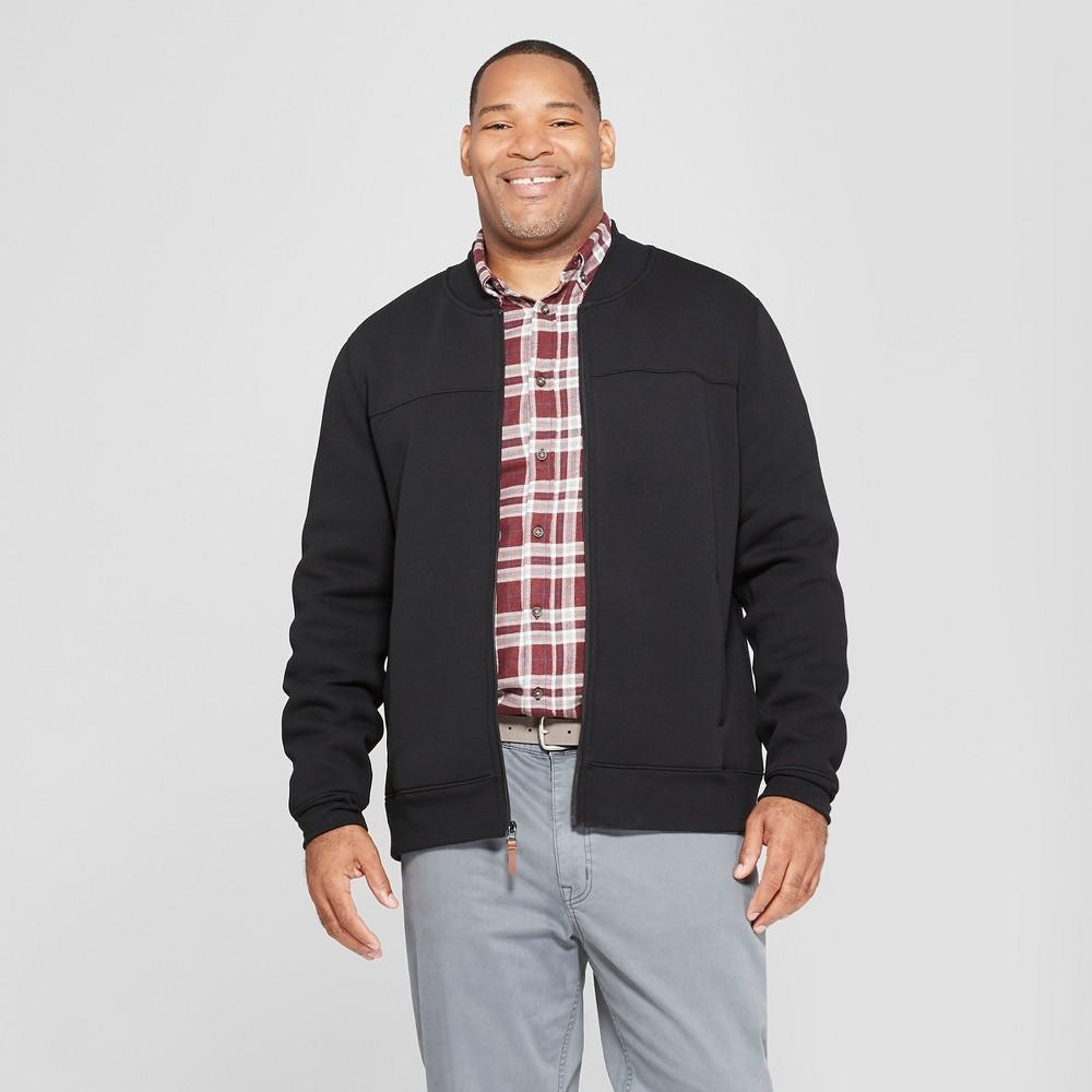 Men's Big & Tall Scuba Bomber Jackets - Goodfellow & Co Black 3XB