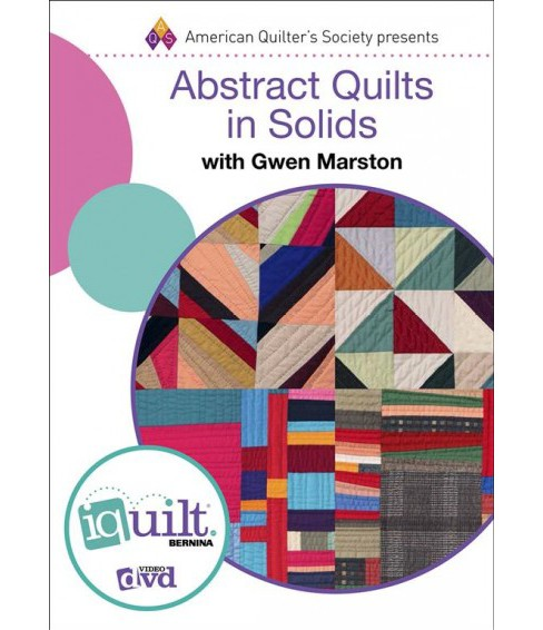 Abstract Quilts in Solids (Hardcover) (Gwen Marston) - image 1 of 1