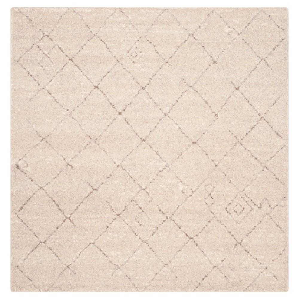 Tunisia Rug - Ivory - (6'x6' Square) - Safavieh