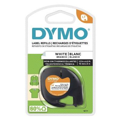DYMO LetraTag Iron-On Label Refills - White