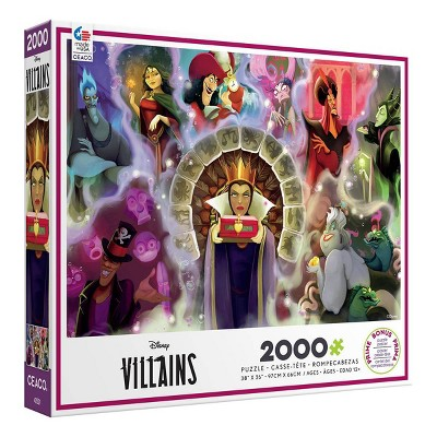 Ceaco Disney Villains 2 Jigsaw Puzzle - 2000pc