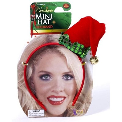 Forum Novelties Christmas Mini Hat Costume Accessory Headband