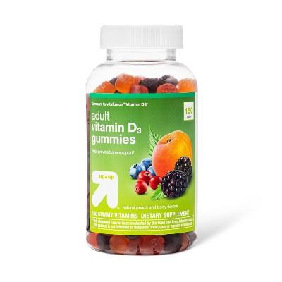 Adult Vitamin D Gummies - Fruit Flavors - 150ct - up & up™