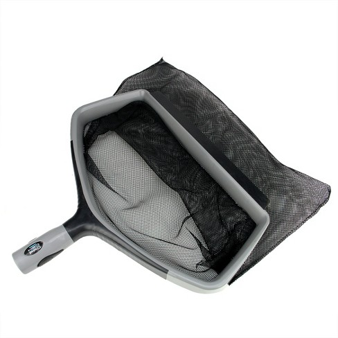 "Swimline Hydrotools H2O Pro Swimming Pool Deep Bag Leaf Rake Skimmer Head 17"" - Gray/Black - image 1 of 3"