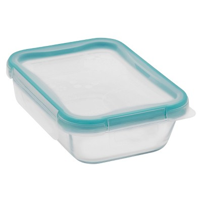 Snapware Glass Medium Square Container 2 cup