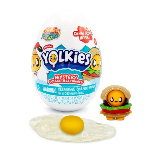 Foodie Surprise Yolkies Mystery Collectible Figures image number null