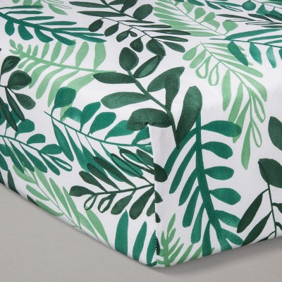 Crib Fitted Sheet - Cloud Island™ Green
