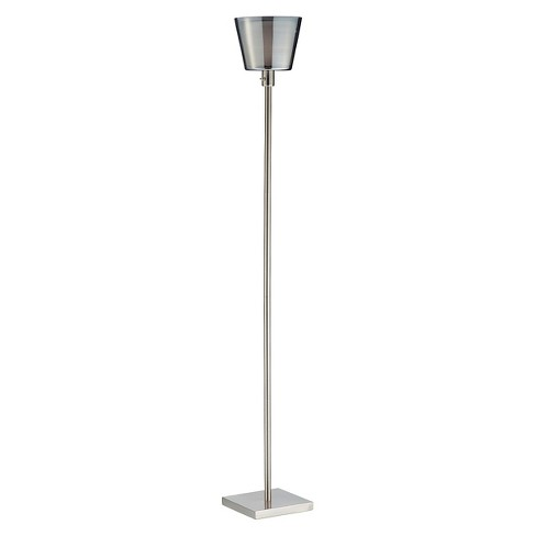 Adesso Prescott Tall Floor Lamp - Silver - image 1 of 1
