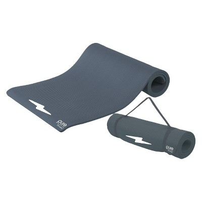 Pure Fitness Extra Thick High Density Exercise Mat - Charcoal