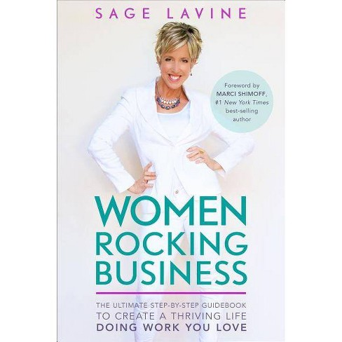 Women Rocking Business - by  Sage Lavine (Hardcover) - image 1 of 1