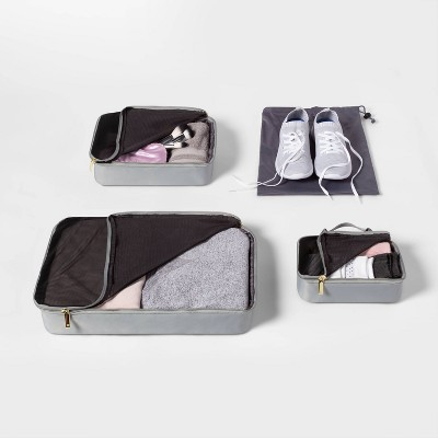 4pc Packing Cube Set Sage Green - Open Story™