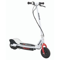Razor E200 Electric Scooter WH/RD
