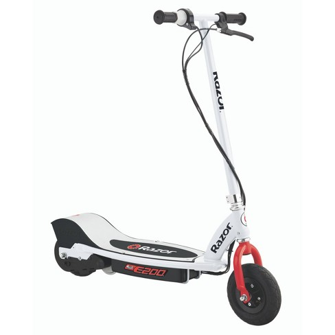 Razor E200 Electric Scooter WH/RD - image 1 of 4