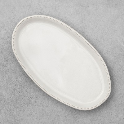 Stoneware Oval Platter Small - Hearth & Hand™ with Magnolia