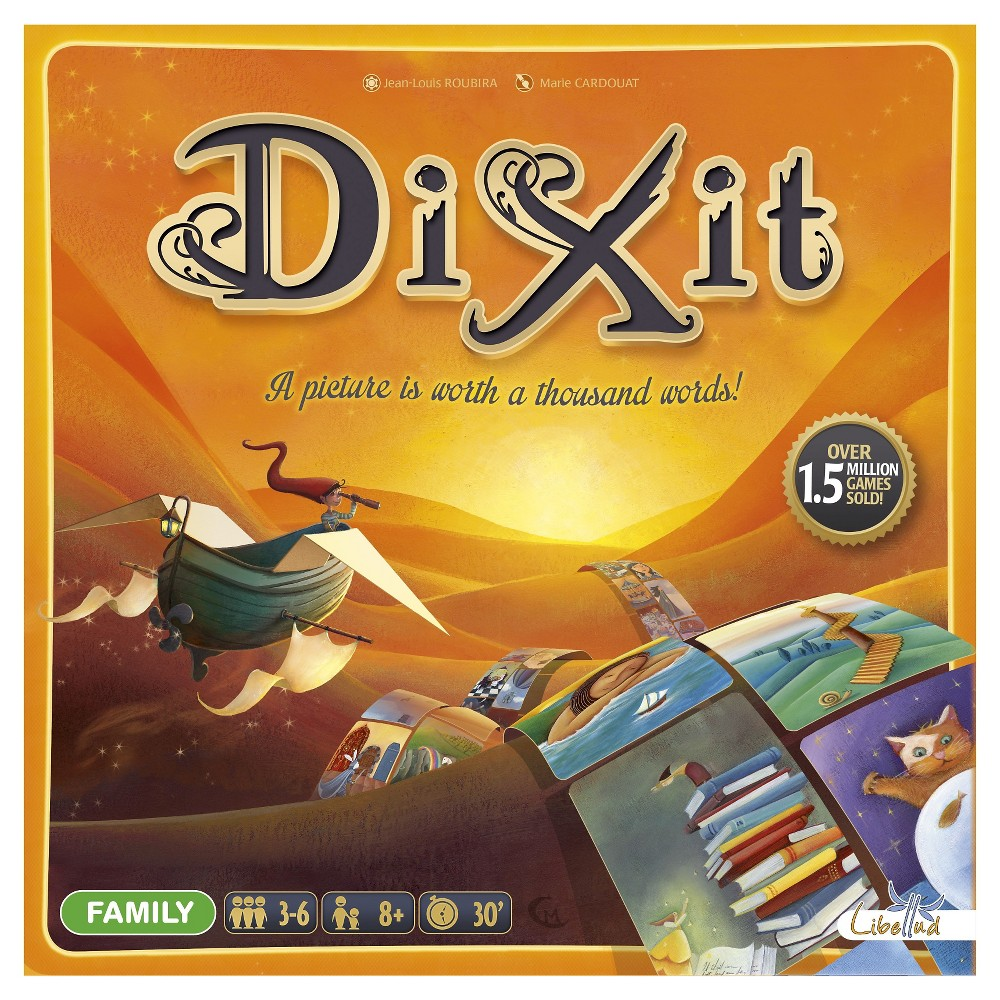 Asmodee Editions Dixit Board Game, Board Games
