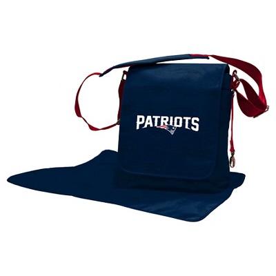 New England Patriots LilFan Diaper Messenger Bag