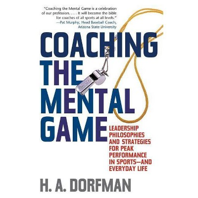 Coaching the Mental Game - by  H a Dorfman (Paperback)
