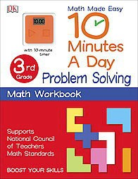 10 Minutes a Day Problem Solving 4th Grade with 10minute Timer