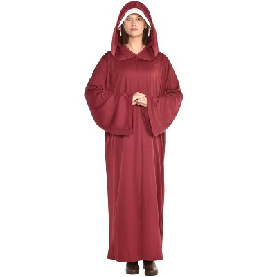 Amscan Red Hooded Maiden Robe Adult Costume