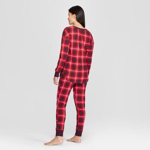 Women s Plaid Thermal Pajama Set - Gilligan   O Malley™ Purple   Target cfbb0a7b1