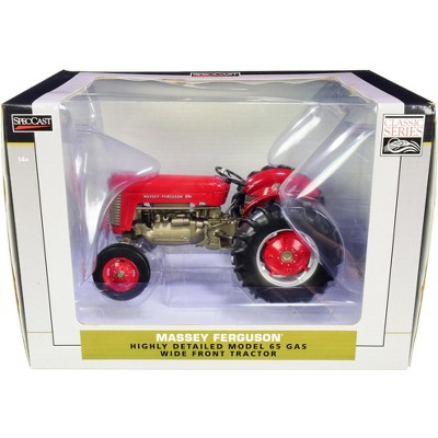 """Massey Ferguson 65 Wide Front Gas Tractor Red """"Classic Series"""" 1/16 Diecast Model by SpecCast"""