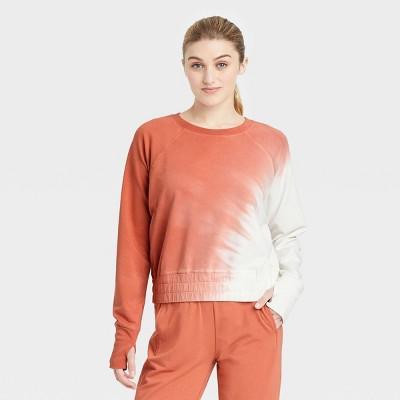 Women's French Terry Tie-Dye Pullover - JoyLab™