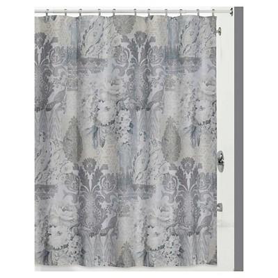 Heirloom Shower Curtain Gray - Creative Bath