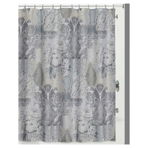 Heirloom Shower Curtain Gray - Creative Bath - image 1 of 1
