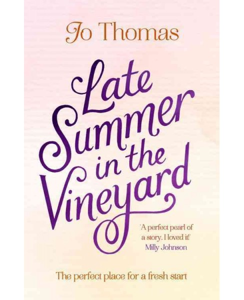 Late Summer in the Vineyard (Paperback) (Jo Thomas) - image 1 of 1