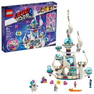 THE LEGO MOVIE 2 Queen Watevras So-Not-Evil Space Palace 70838