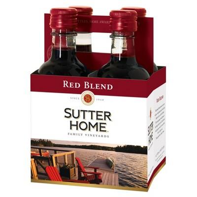 Sutter Home Red Blend Red Wine - 4pk/187ml Bottles