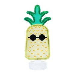 Faux Neon Sign Pineapple - Sun Squad™
