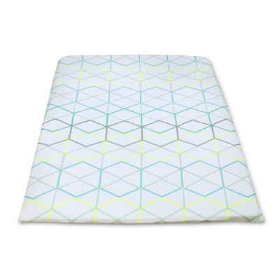 Play Yard Fitted Sheets Geo 2pk - Cloud Island™ Green