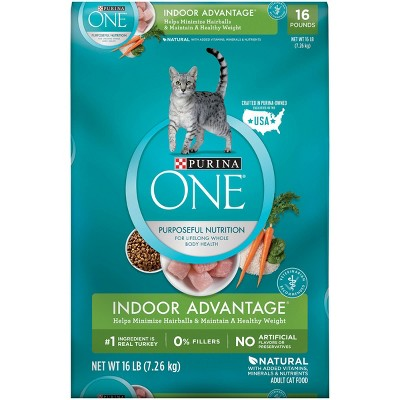 Cat Food: Purina ONE Indoor Advantage