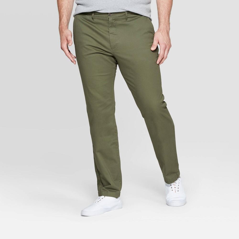 Men 39 S Big 38 Tall Slim Fit Hennepin Chino Pants Goodfellow 38 Co 8482 Paris Green 56x32