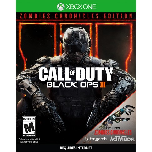 Call Of Duty Black Ops Iii Zombies Chronicles Edition Xbox One