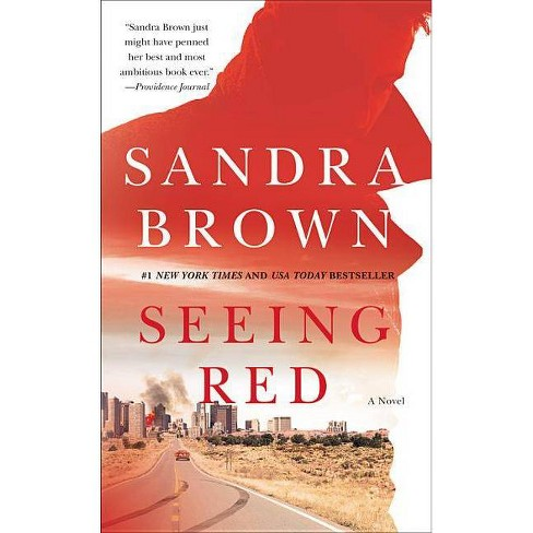 Seeing Red - by  Sandra Brown (Hardcover) - image 1 of 1