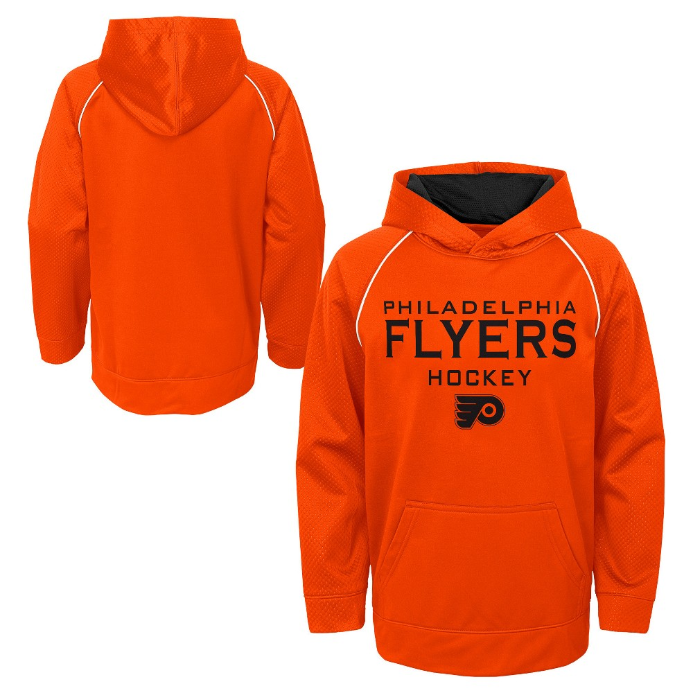 Philadelphia Flyers Boys' Shorthand Poly Embossed Hoodie S, Multicolored