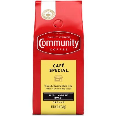 Community Coffee Cafe Special Medium Dark Roast Ground Coffee - 12oz