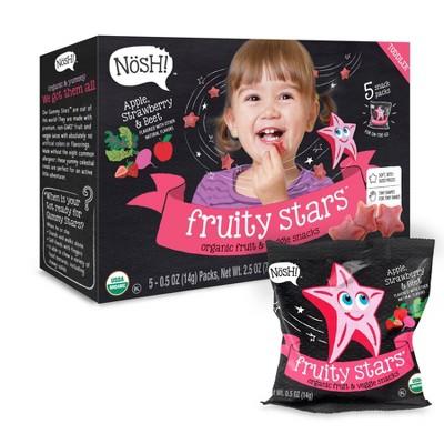 Baby & Toddler Snacks: Nosh Fruity Stars