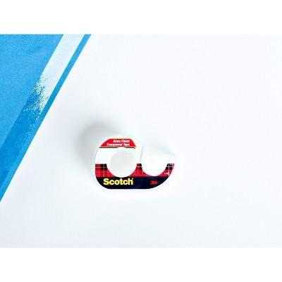 Scotch Transparent Tape 4PK 3/4in x 275in, Clear
