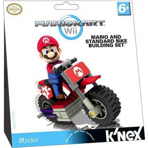 K'NEX Super Mario Mario Kart Wii Mario and Standard Bike Set #38001 - image 1 of 2