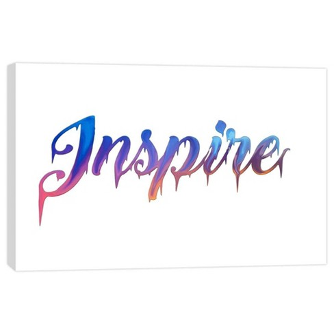"Inspire Decorative Canvas Wall Art 11""x14"" - PTM Images - image 1 of 1"