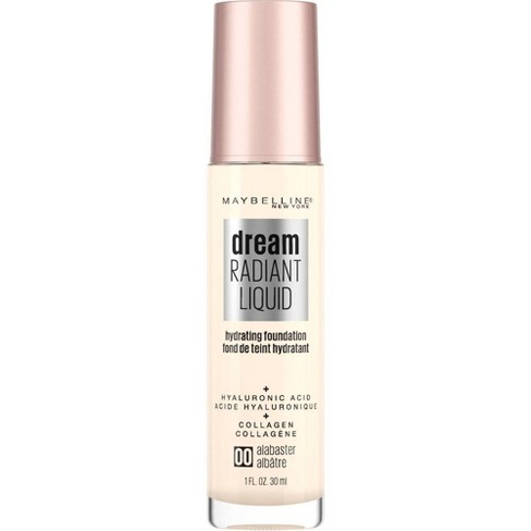 Maybelline Dream Radiant Liquid Foundation with Hyaluronic Acid + Collagen - 1 fl oz - image 1 of 4