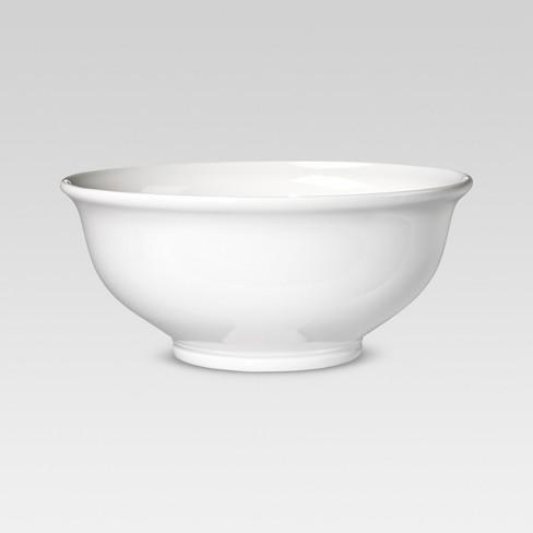 Porcelain Serving Bowl 180oz White - Threshold™ - image 1 of 7