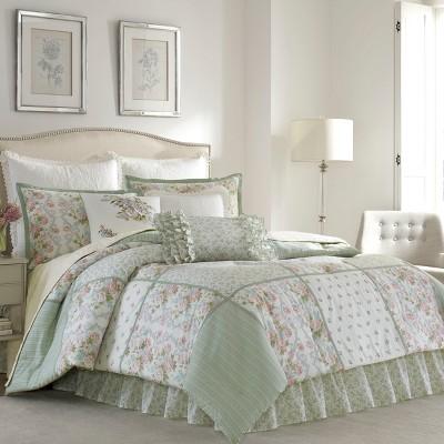 Green Harper Comforter Set - Laura Ashley