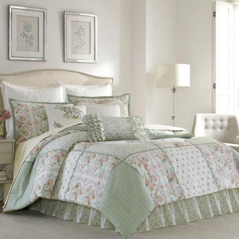 Green Harper Comforter Set Laura Ashley Target