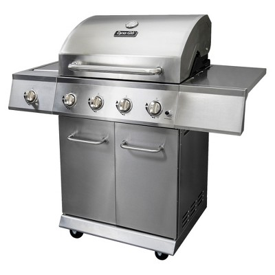 Dyna-Glo 4-Burner 52,000 BTU Propane Gas Grill with Side Burner