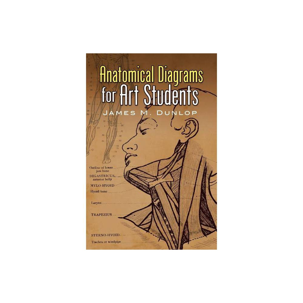 Anatomical Diagrams For Art Students Dover Art Instruction By James M Dunlop Paperback